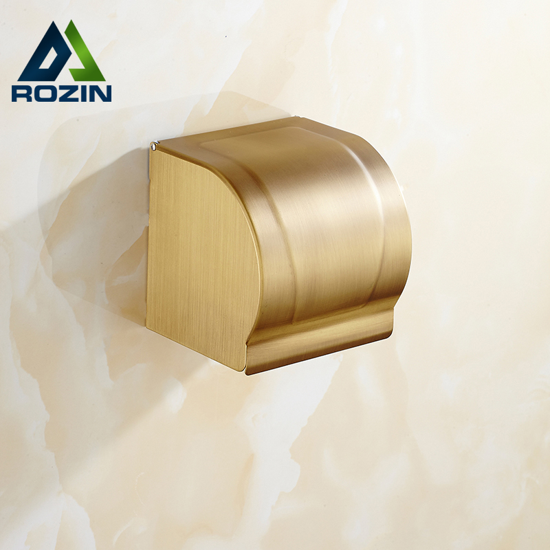 Free Shiping Bathroom Toilet Paper Roll Holder Wall Mounted Modern Bathroom Waterproof Paper Box stainless steel wall mounted waterproof toilet roll paper holder of high capacity for toilet hotel and bathroom