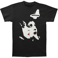 Cool Slim Fit Letter Printed Gildan Christmas Siouxsie And The Banshees Men S Red Lips O