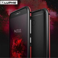 For Xiaomi Redmi 4x Phone Case Original LUPHIE Aluminum Metal Frame Case Dual Color Bumper Cover