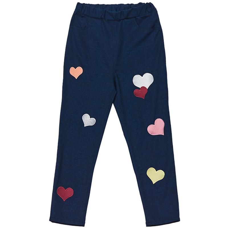 Principessa dolce lolita pantaloni di estate dolce hit colori a forma di cuore ricamo di alta personalità vita elastica dei pantaloni della matita VC193 - 5