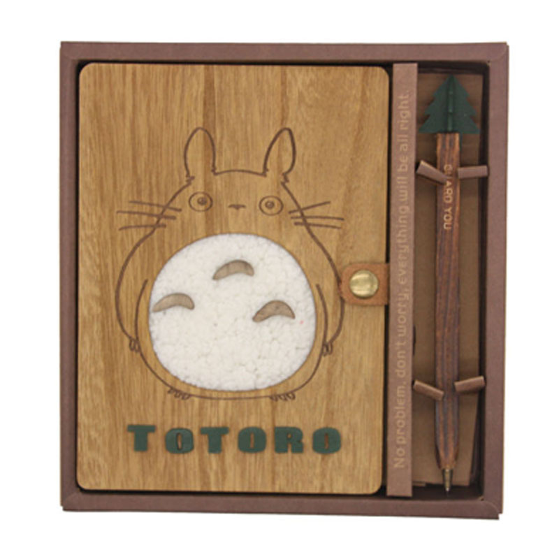 JOUDOO Creative School Supplies Kawaii B6 Totoro Chinchilla Notebook Diary Hand-painted Notepad with Pen Birthday Gift холодильник hansa fm050 4