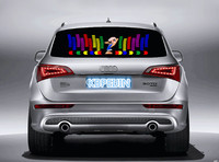 car styling neon light car LED music Rhythm sticker for Toyota corolla rav4 camry prius hilux avensis verso accessories 90*25cm
