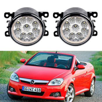 Car-Styling For Opel Vauxhall Tigra TwinTop B 2004-2009 9-Pieces Led Fog Lights H11 H8 12V 55W Fog Head Lamp фото