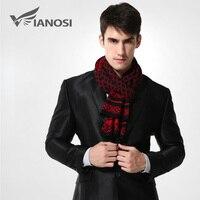 [VIANOSI] бренд зимний шарф Для мужчин шикарный шерстяной плед вязаный шарф дизайнер шали бизнес Повседневное Шарфы для женщин MA008