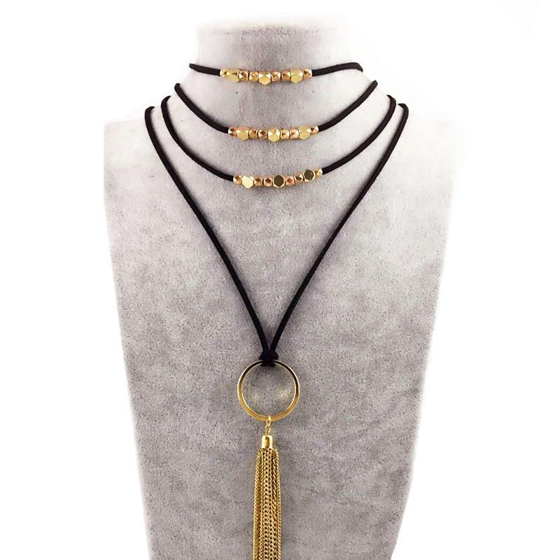 DANZE-Women-s-Leather-Chain-lariat-tassel-Necklace-2018-Long-Boho-Gothic-Feather-Pendant-Necklace-Women