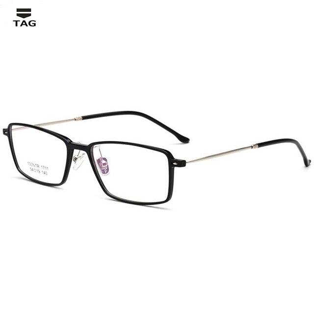 c4557843c9 TR90 men Glasses frame vintage optical brand women myopia designer clear  Eyeglasses frame black Trendy eye glasses square frame