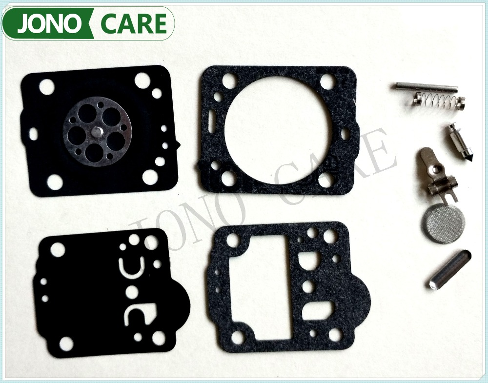 5sets Carburetor Carb Rebuild Repair Kit Gasket Diaphragm For saw Husqvarna 235 236 435 JONSERED CS2234 CS 2238 ZAMA KIT RB-149 rb 149 carburetor repair kit for husqvarna 235 236 435 chainsaw lawn mower parts w zama carbs dr162 and jonsered cs2234 cs 2238