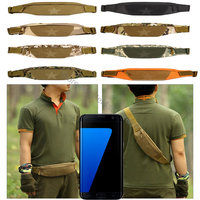 Universal 5 5 Waterproof Military Tactical Molle Waist Mobile Phone Case Bum Bag Army Camo Pack