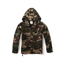 2017 neue Ankunft Männer Mode Camouflage Jacke Sommer Flut Männlichen militärischen kapuzenjacke Mantel und jacke männer