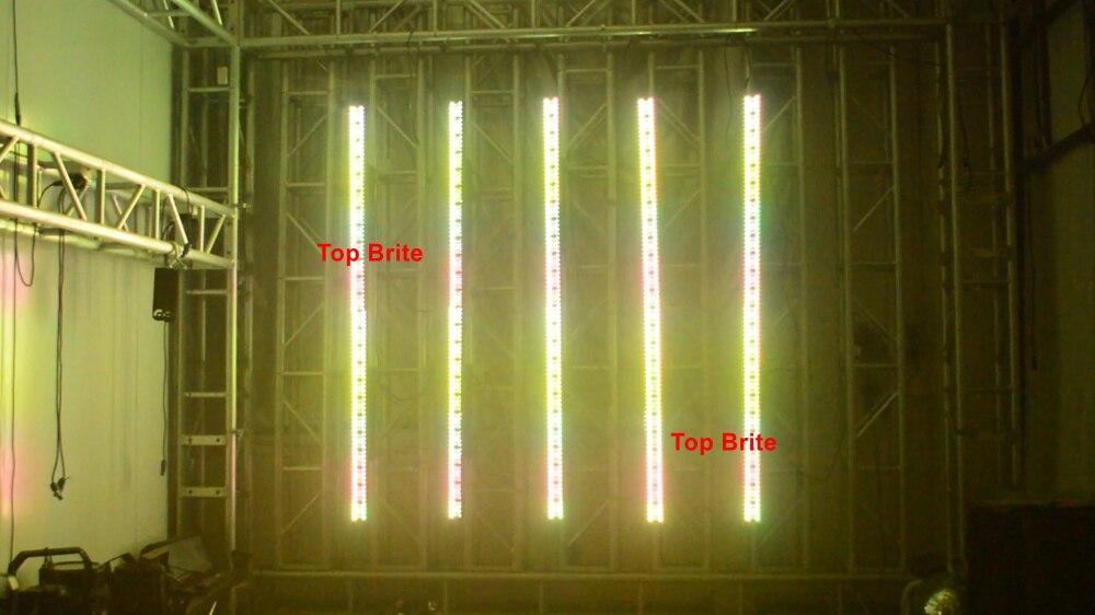 de luz dmx linha barra de luz