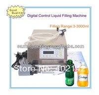 Free Shipping Small Economy Digital Control Pump Liquid Water Filling Machine For Juice Shampoo Etc