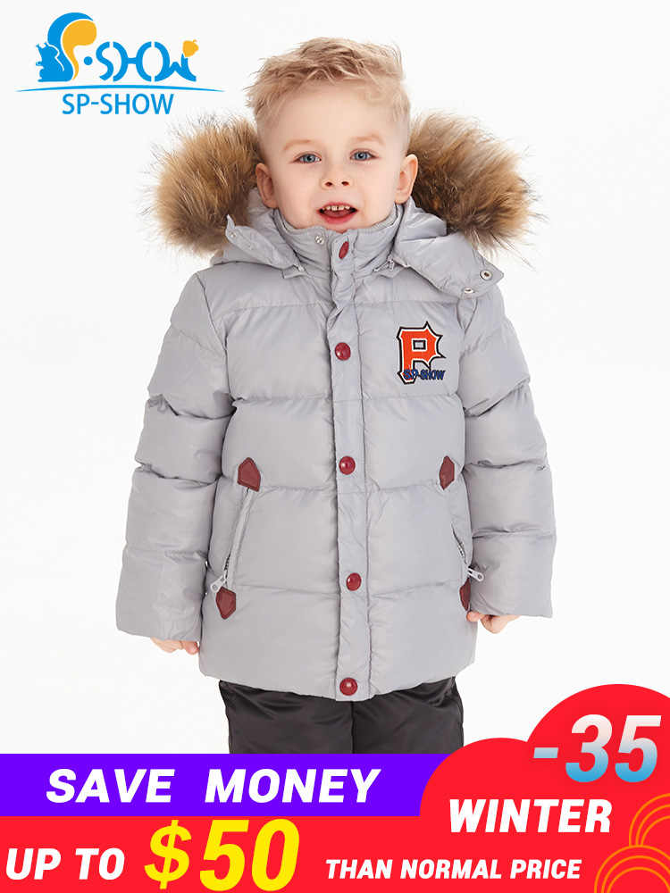 f0c4771325d Detail Feedback Questions about sp show Winter Coat Hooded Two Piece ...