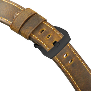 Image 4 - IStrap ייחודי 22mm 24mm 26mm שעון רצועת אמיתי עגל עור צמיד שעון להקות Assolutamente רצועת השעון חום עבור חלונית ראי