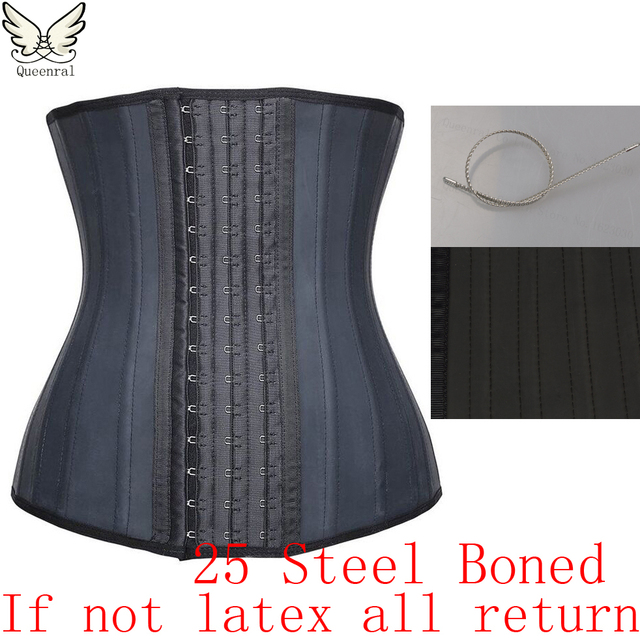Latex waist trainer Slimming latex Belt cincher corset slimming modeling strap hot shapers body shaper slimming latex corset