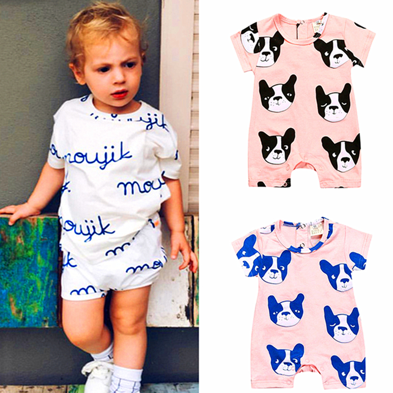 Baby Rompers Summer Baby Boy Rompers Cotton Baby Boy Clothes Girl Clothing Newborn Clothes Roupas Bebe Infant Baby Jumpsuits