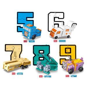 Image 5 - 10 CHIẾC Biến Đổi Số Đồ Chơi Robot Khối Xây Dựng Biến Dạng Túi Morphers Giáo Dục Hành Động Hình Đồ Chơi cho Trẻ Em
