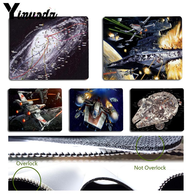 Yinuoda Funny StarWars Computer Gaming Mousemats Durable Office Accessory and Gift Mousepad image