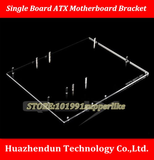 DEBROGLIE 1PCS ATX Motherboard bracket DIY Transparent Black acrylic Motherboard Graphics video Card Tray for Computer vg 86m06 006 gpu for acer aspire 6530g notebook pc graphics card ati hd3650 video card