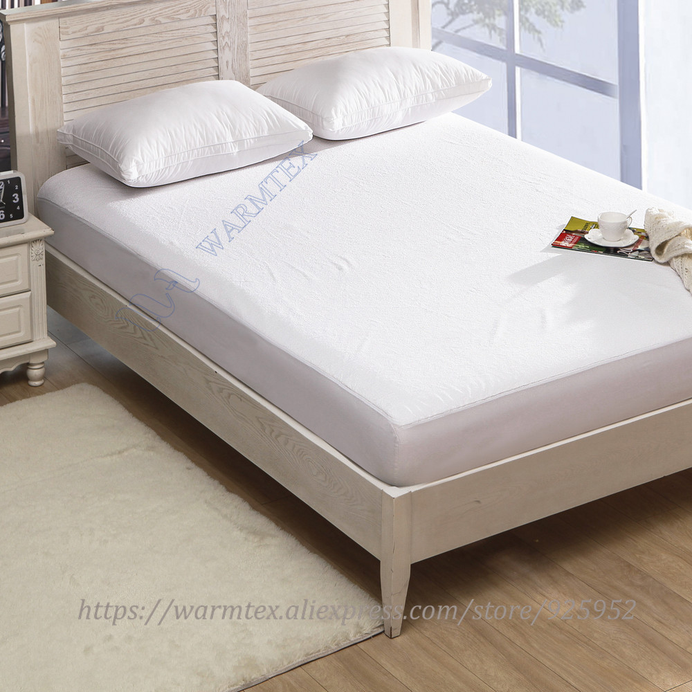 king size 180x200cm Soft fleece cloth 100% Waterproof Mattress Protector/  Mattress Cover Luxury Customized