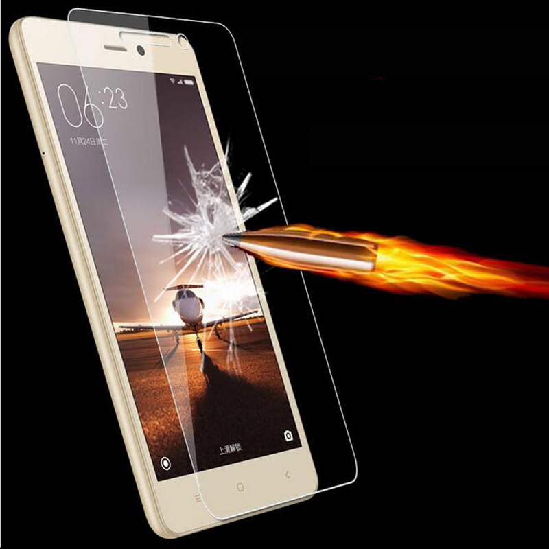 0.26mm 9H Tempered Glass for Xiaomi Redmi 3 3s pro Mi 5 Mi4 Mi4C 4i Mi3 Redmi Note 3 pro Note 2 Screen Protector Film Retail Box