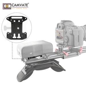 Image 5 - CAMVATE Camera QR Assembly Kit V Lock Quick Release Plate For DSLR/Blackmagic URSA Mini/ DJI Ronin M/MX V Mount Battery Mounting