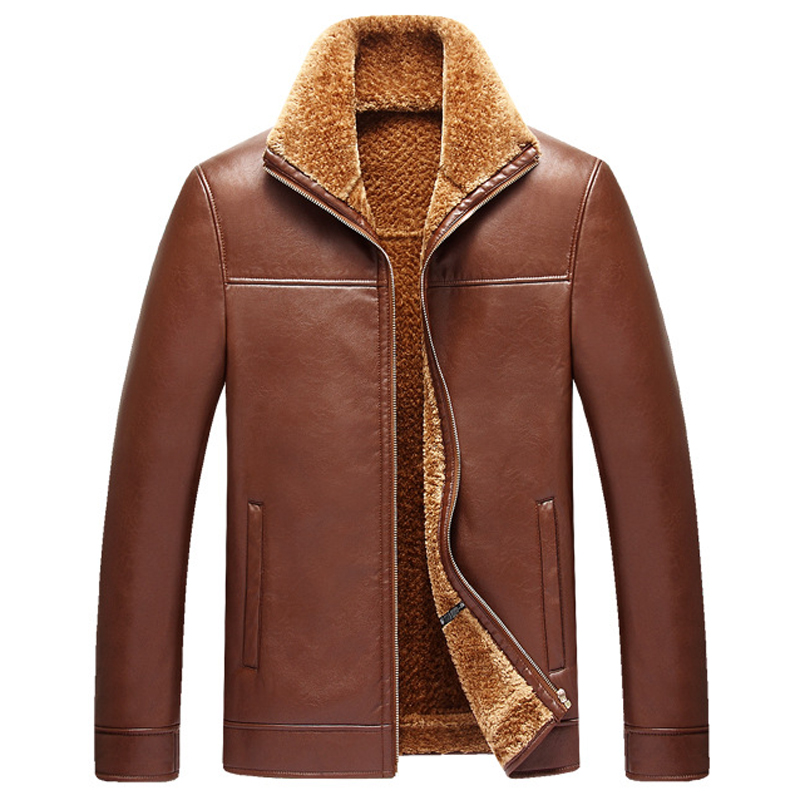 Popular Mens Bomber Jacket with Fur Collar-Buy Cheap Mens Bomber ...