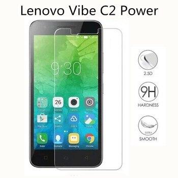Vidrio templado para Lenovo Vibe C2 Power K10a40 5,0 pulgadas protector para Lenovo Vibe C2 películas de Protector de pantalla