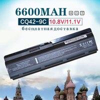 6600mah Battery for HP Pavilion MU06 DM4 DV3 DV5 DV6 DV7 G32 G42 G62 G56 G7 For COMPAQ Presario CQ32 CQ42 CQ56 CQ62 CQ630 CQ72