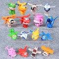 Alas súper figura de acción juguetes 8 unids Deformable alas Súper juguete 5 cm Súper alas juguetes para los niños