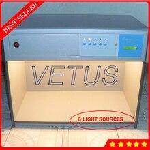Цвет одинаковая световой короб с Цвет световая витрина в соответствующей коробка D65 TL84 УФ F вут U30 6 источников света