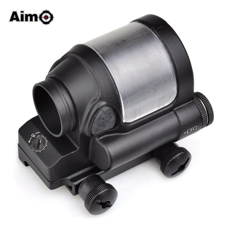 Aim-O Red Dot Tactical Hunting Sight Scope SRS Reflex 1x38 Iron Optics Riflescope For Airgun AO3040 aim o red dot tactical hunting sight scope srs reflex 1x38 iron optics riflescope for airgun ao3040