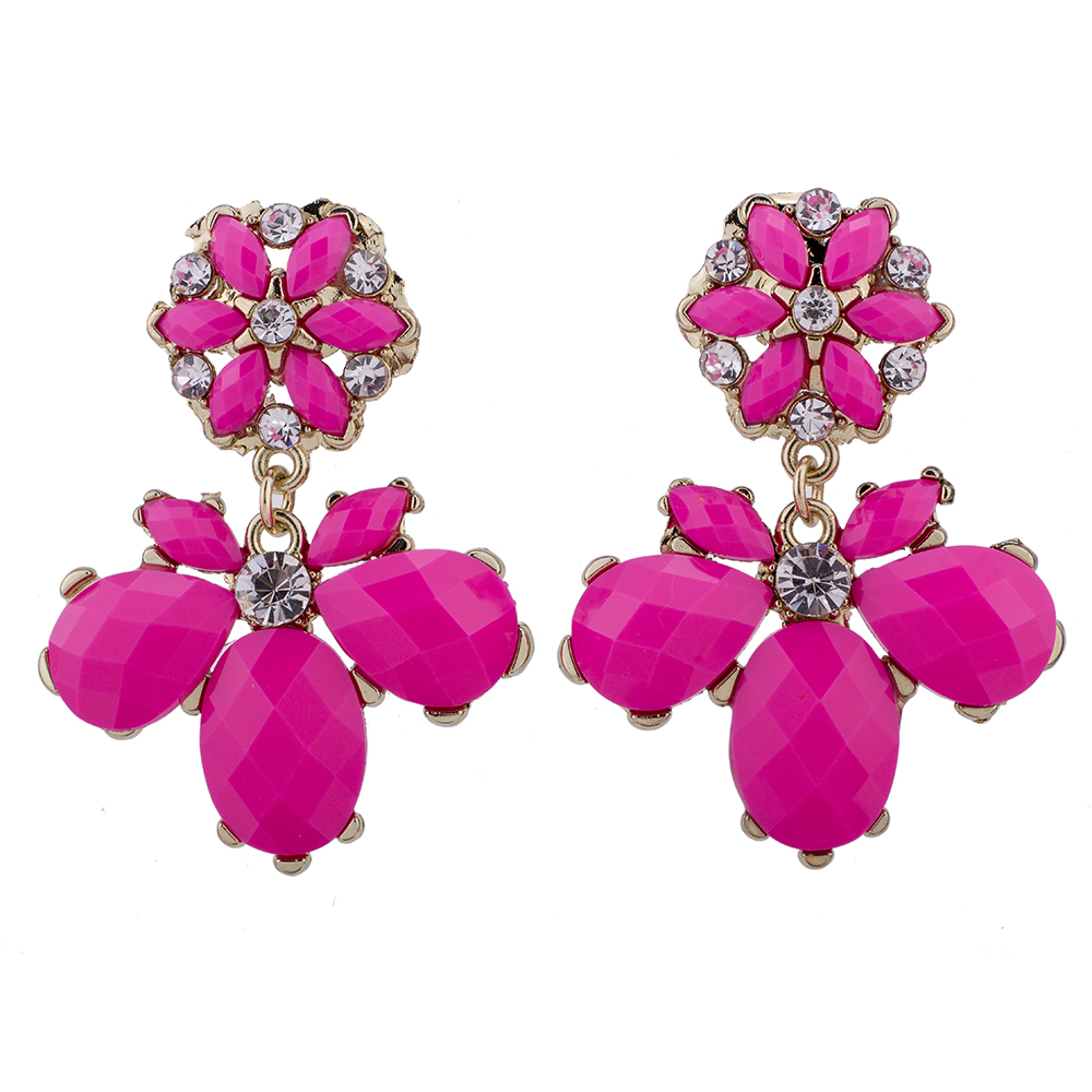 ᐊSER5055 Hot Sale High Quality 2 Colors Fashion Earrings Classic ...