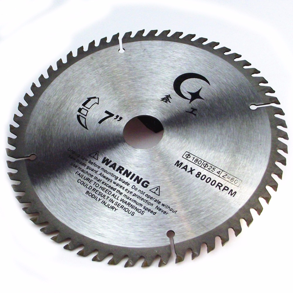 4/6/7/8/9/10 Inch YG8 TCT Woodworking Circular Saw Blade Acrylic Plastic Cutting Blade General Purpose For Hard Soft Wood
