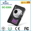 Frete grátis 8x zoom óptico de 18MP câmera digital com 2.7 ''TFT display/recarregável lihtium/4 GB SD CARTÃO da câmera digital