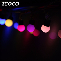 ICOCO 12M 100 LED String Fairy Lights For Party Christmas Halloween Home Decoration Waterproof Promotion Sale