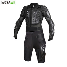 Wosawe Newest Motorcycles Armor Protection Motocross Jacket Protector Moto Cross Chest Back Protector ProtectiVe Gear цена и фото