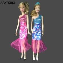 ee8ed53a0b 1 6 Muñecas vestido de moda para muñeca Barbie de un hombro sexy vestido de  una pieza 1 6 muñeca Accesorios niños juguete