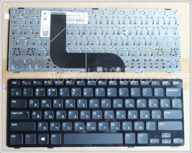 Novo original ru russo do teclado do portátil para dell inspiron n411z 5423 14z-5423 14z 3360 1618l 13z-5323 5323 vostro 3360 v3360