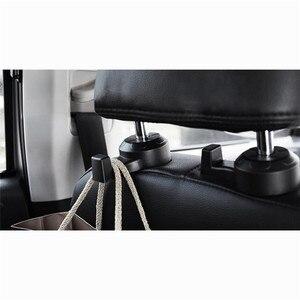Image 5 - 2 Stuks Universele Auto Vrachtwagen Suv Seat Terug Hanger Organizer Hook Hoofdsteun Houder Rugleuning Haak Voor Auto