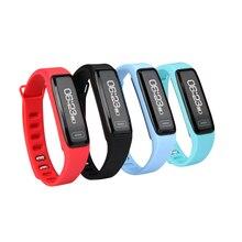 Смарт-браслеты A01 2017 Спорт мониторинга сердечного ритма Bluetooth Smart Браслет поднять руку свет oled-экран браслет для занятий спортом