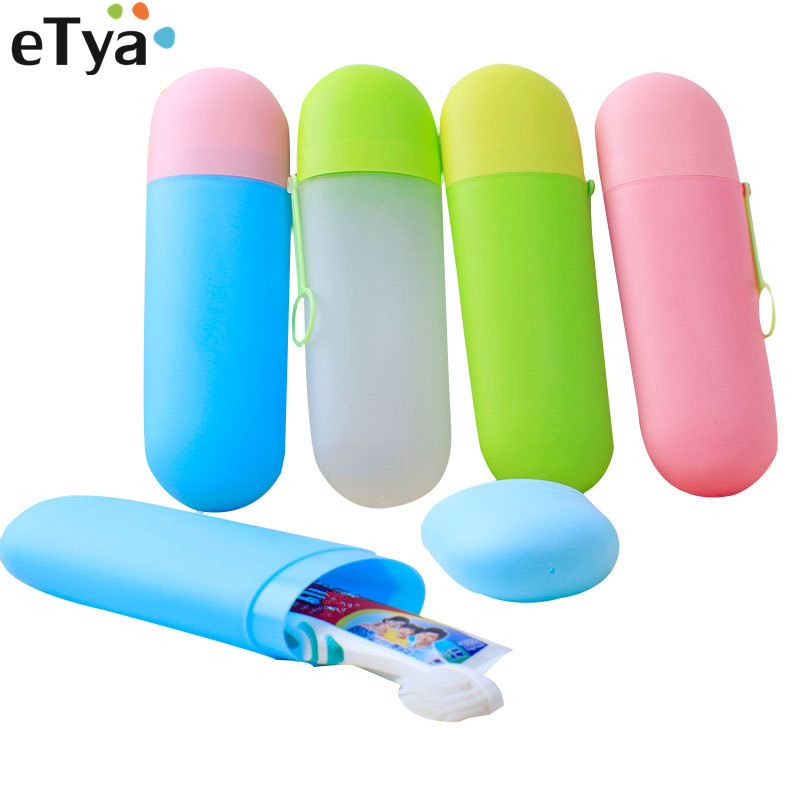 ETya Travel Packing Toothbrush Organizer Box Case Toothbrush Holder Box Protect Toothpaste Camping Bathroom Travel  Accessories