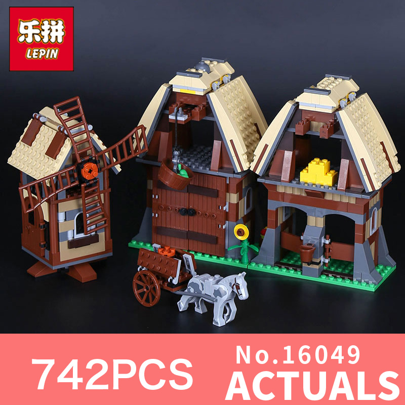 Lepin 16049 742Pcs Genuine Creative Series The Mill Village Raid Set 7189 Building Blocks Bricks Educational Toys As Gift Model bering 30226 742