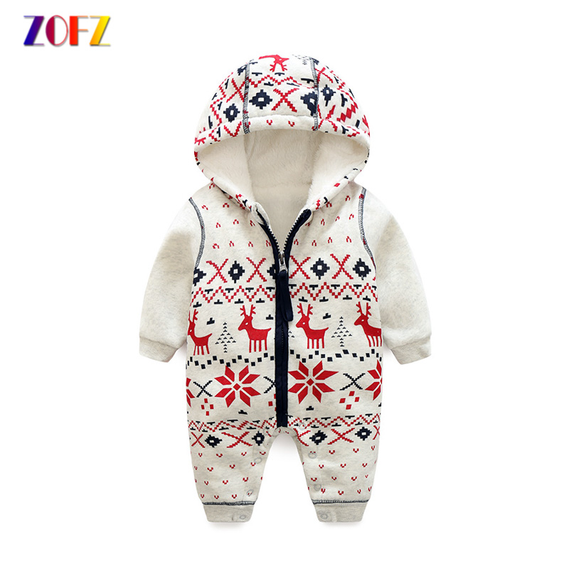 ZOFZ Baby Rompers for Girls 2018 Long Sleeve print jumpsuit Cute baby clothes cotton comfortable clothing for new born bebes baby rompers cotton long sleeve 0 24m baby clothing for newborn baby captain clothes boys clothes ropa bebes jumpsuit custume