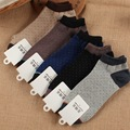 10 pieces = 5 pairs of The new small clip figure cotton men ankle socks Summer men socks