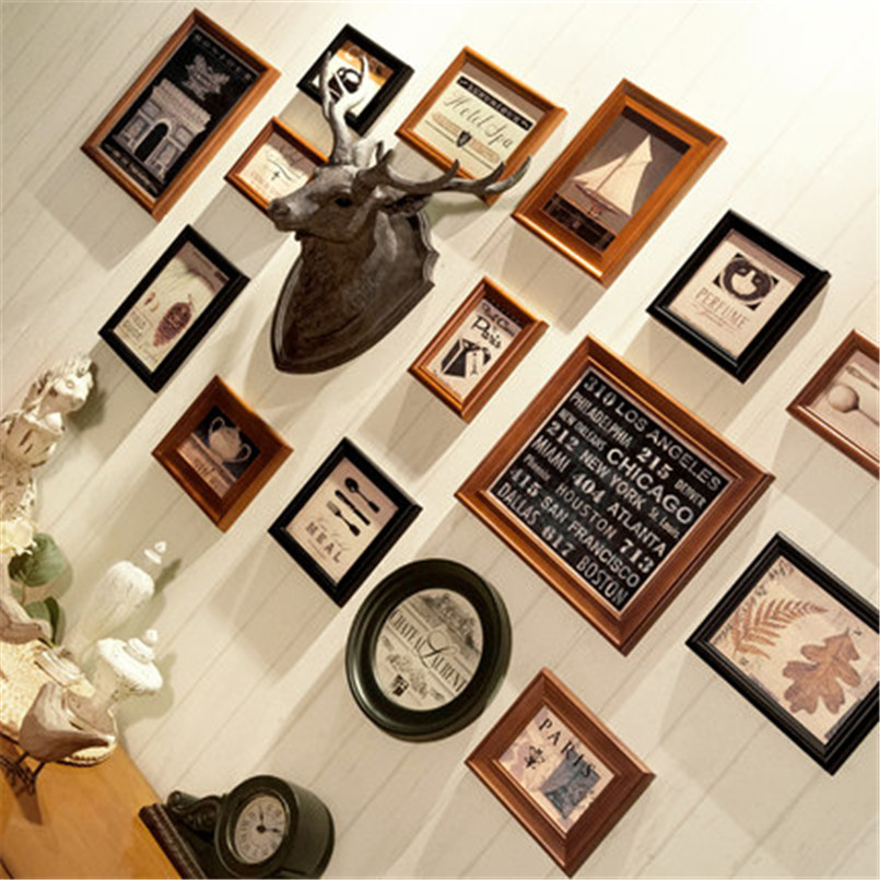 Baby Photo Frame Favors Wall Hanging Wood Frame Picture Cheap