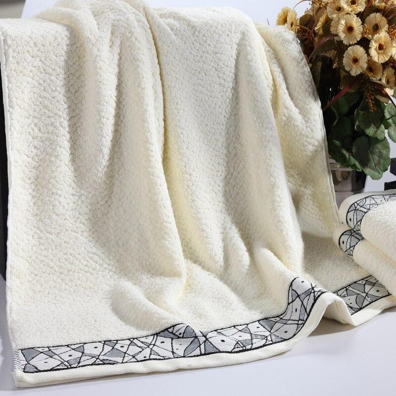 70*140cm 100%cotton Grey Jacquard Bath Towel Bulk Beach