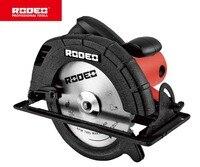 RODEO CS2100 циркулярная пила 220 В 235 мм 2100 Вт деревообрабатывающий Электроинструмент портативная пила