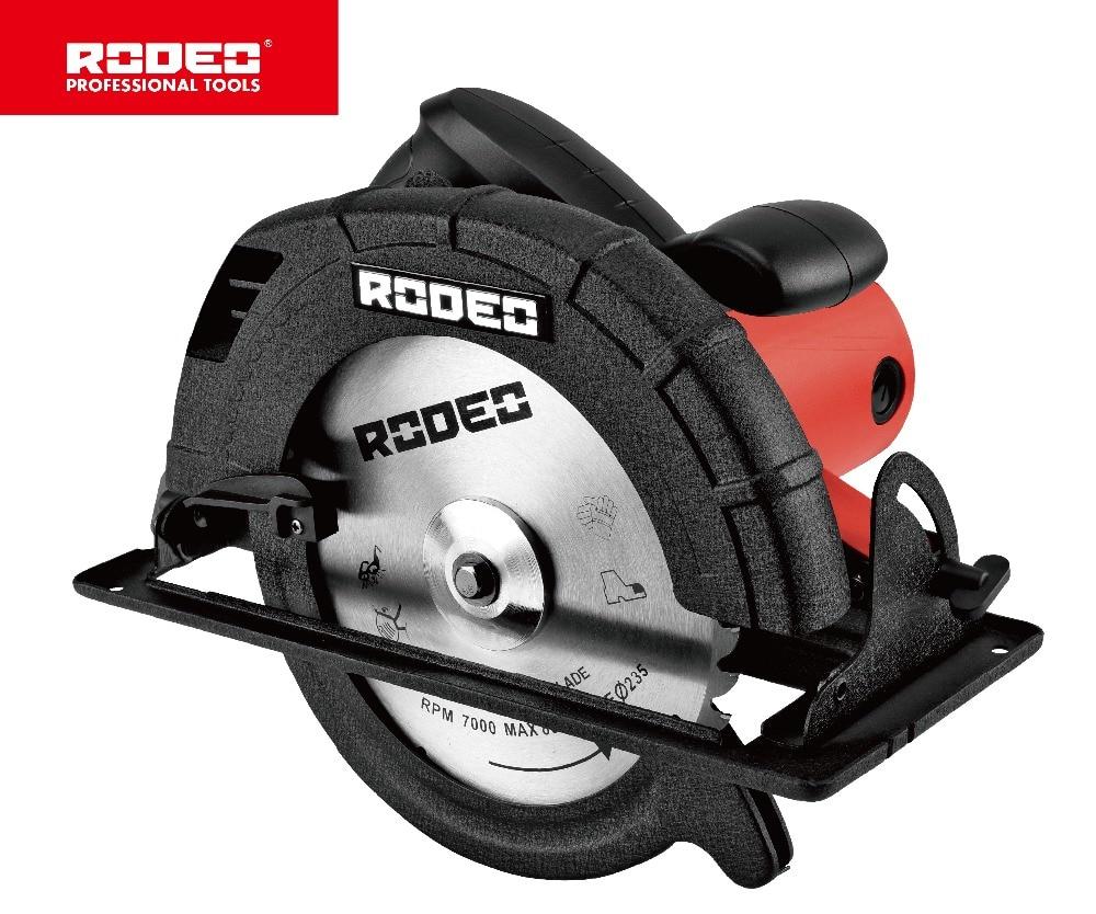 RODEO CS2100 Circolare Seghe 220 V 235 millimetri 2100 W Lavorazione Del Legno Utensili elettrici Portatile Seghe