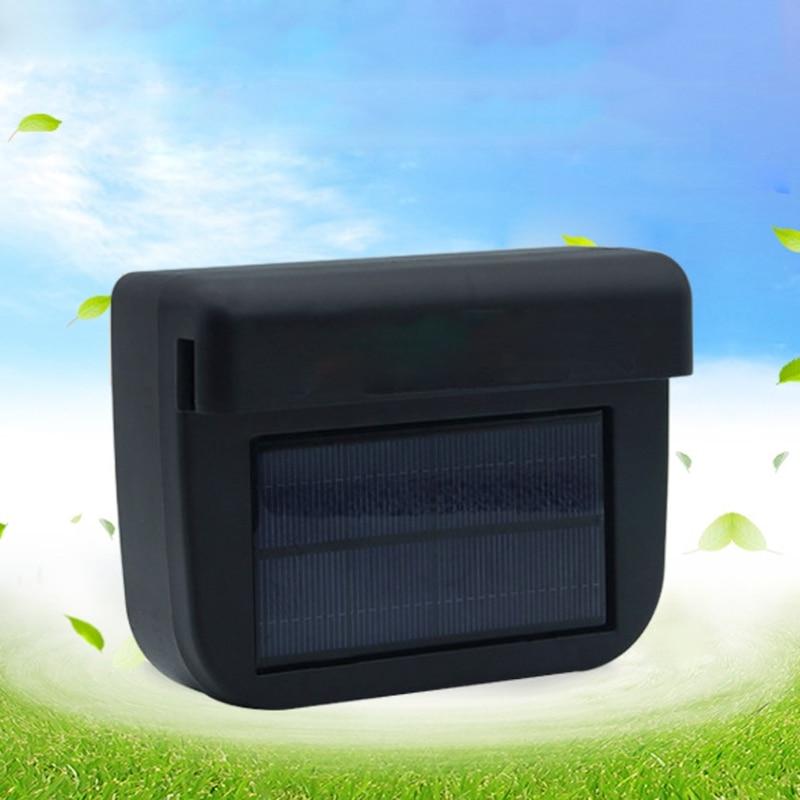 Ootdty Solar Powered Auto Car Window Auto Air Vent