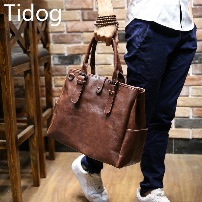 Tidog Korean male bag Messenger Bag Tote travel bag Сумка